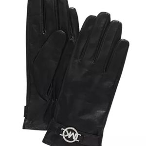 Micheal Kors Leather Ornament Gloves BNWT